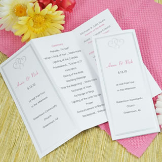 West palm wedding invitations west palm wedding programs give your guests a stylish way to cool off with our diy circle fan program kit these fans are sure to impress all of your wedding guests solutioingenieria Image collections